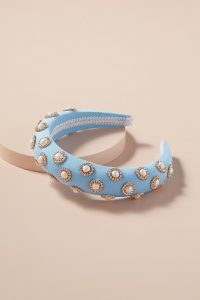 Alice & Blair Swarovski Crystal Headband Sky / blue embellished headbands