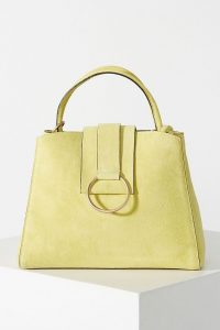 Anthropologie Samara Mini Tote Bag Yellow
