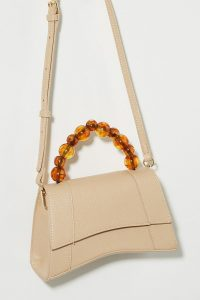 Vega Beaded-Handle Bag in Honey ~ Handbags at Anthropologie