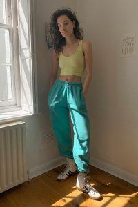 iets frans… Jade Joggers – dark green jogger