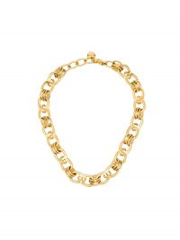 BRINKER & ELIZA Juliet gold-tone necklace / chunky chain necklaces