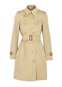BURBERRY Chelsea camel cotton trench coat | classic coats