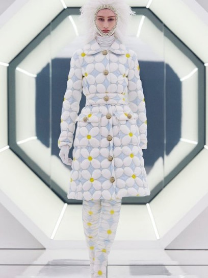 0 MONCLER GENIUS RICHARD QUINN Candice daisy down-quilted shell coat