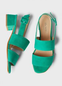 HOBBS CLAUDIA SANDAL FIELD GREEN