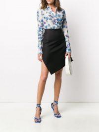 COPERNI asymmetric midi skirt | contemporary skirts