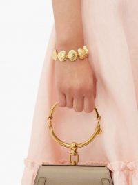 AURÉLIE BIDERMANN Fortaleza shell 18kt gold-plated bracelet ~ summer bracelets