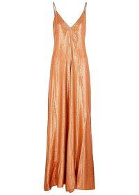 FORTE_FORTE Mozaik satin-jacquard maxi dress ~ event glamour
