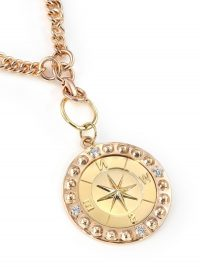 FOUNDRAE 18K yellow gold Course Correction medallion necklace | luxe round pendants