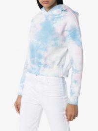 FRANKIES BIKINIS Burl tie-dye hoodie