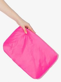 KASSL EDITIONS shell clutch bag / bright pink bags