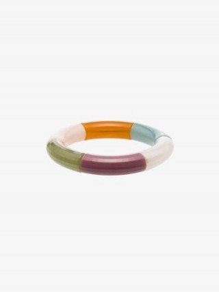 Kyoto Tango Multicoloured Mine Colour Block Bangle | contemporary bangles