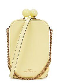 MARC JACOBS The Vanity yellow cross-body bag ~ small luxe crossbody