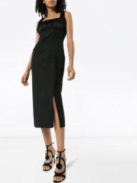 MATÉRIEL square neck fitted dress | LBD