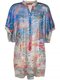 MISSONI MARE beach-print beach shirt / holiday cover-up