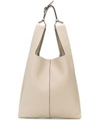 MULBERRY oversized Portobello beige-leather tote | large contemporary shoulder bags