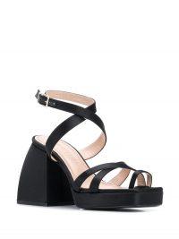 NODALETO Bulla Siler strappy sandals / chunky heeled sandal