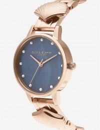 OLIVIA BURTON OB16US16 Mermaid stainless steel watch rose-gold plated