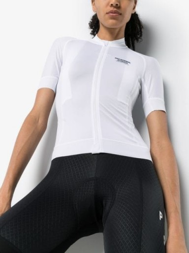 PAS NORMAL STUDIOS Mechanism jersey zip-up top / fitted cycling tops