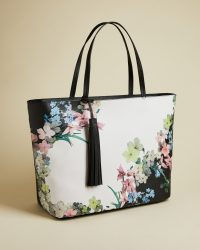 TED BAKER AYELIIE Pergola shopper bag / flower print shoppers