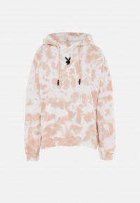 playboy x missguided stone tie dye hoodie – pullover hoodies