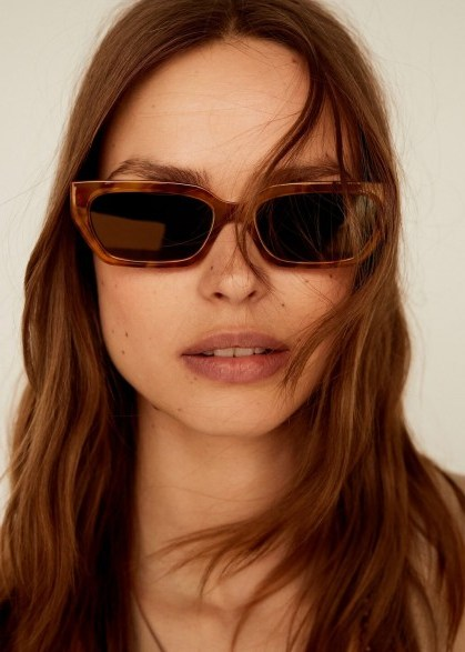 Mango CHARLOTE Retro style sunglasses - flipped