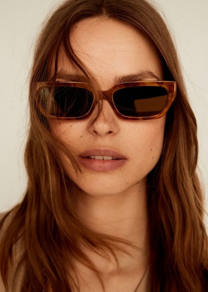 Mango CHARLOTE Retro style sunglasses