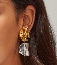 Tory Burch ROXANNE DROP EARRING / statement earrings