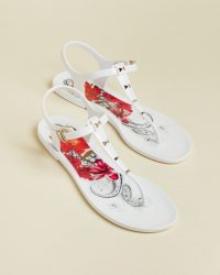 TED BAKER MEIYAS Samba jelly sandals