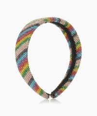 Dune Sparklee Multi Hot Fix Embellished Headband | rainbow headbands