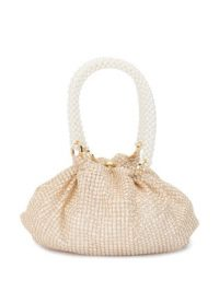 0711 sparkly Shu tote | small gold-tone bags
