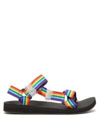 ARIZONA LOVE Trekky rainbow Velcro-strap sandals