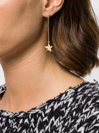TRUE ROCKS star drop earring – single earrings