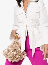 VANINA Inflorescence clutch bag / feminine flower bags