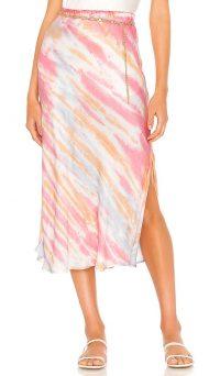 Young, Fabulous & Broke Felicity Skirt Blue Bahama Wash