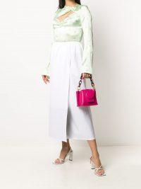 YUZEFI mini Delila tote fuchsia   small pink handbags