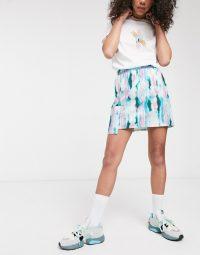 ASOS MADE IN KENYA tye dye mini skirt with utility pocket