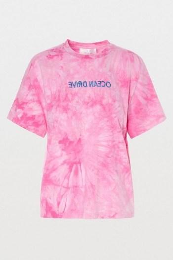 Hosbjerg Ocean Drive T-Shirt Pink - flipped