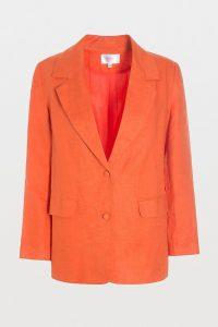 Hosbjerg Rosie Blazer Orange ~ vibrant coloured jackets