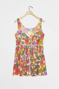 ANTHROPOLOGIE Ballie Printed Tunic