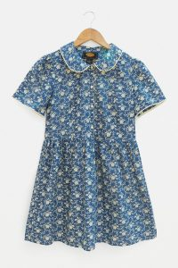 Urban Renewal Inspired By Vintage Lottie Play Dress ~ blue retro dresses