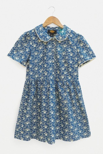 Urban Renewal Inspired By Vintage Lottie Play Dress ~ blue retro dresses