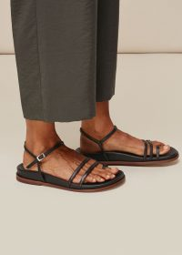 Whistles ISOBEL STRAPPY FOOTBED SANDAL