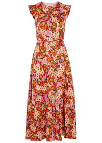 BORGO DE NOR Gabrielle floral-print cotton dress