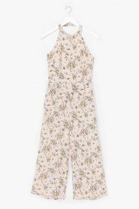 NASTY GAL Budding Romance Halter Floral Jumpsuit – summer halterneck jumpsuits
