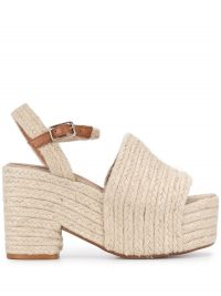 Castañer Xiana 95mm espadrille wedge sandals / chunky summer platforms