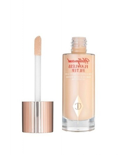 Charlotte Tilbury Hollywood Flawless Filter – 2 light ~ foundations ~ face make-up ~ complexion booster - flipped