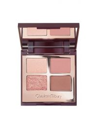 Charlotte Tilbury Pillow Talk Luxury Eye Shadow Palette ~ mixed matte, satin and shimmer eyeshadow palettes