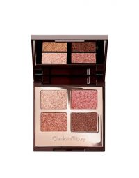 Charlotte Tilbury Pillow Talk Luxury Eye Shadow Palette of Pops ~ sparkling eyeshadows ~ summer evening eyes ~ make-up palettes