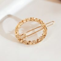 BALZAC PARIS X LA REDOUTE COLLECTIONS Circle Hair Clip in Gold Effect