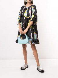 Cynthia Rowley Penelope blossom print dress | vintage look prints